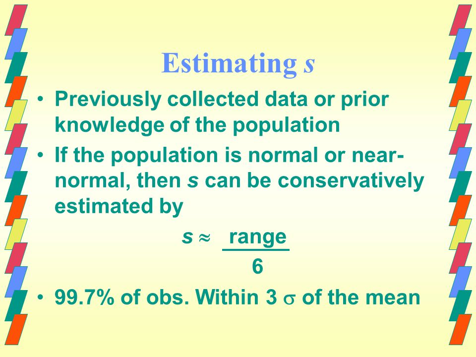 .95 Confidence level Sampling distribution of x