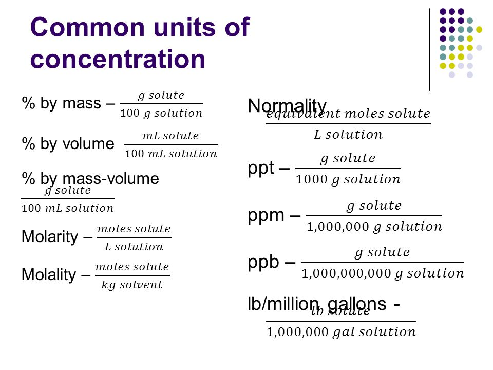 Converting units What is the molarity of a 10% by mass aqueous NaCl solution.