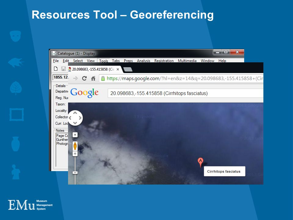 Resources Tool – Georeferencing