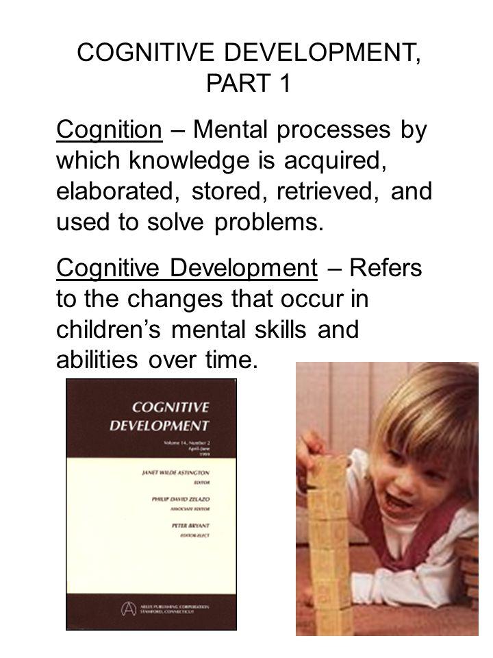 COGNITIVE DEVELOPMENT Piaget's Theory of Cognitive Development Egocentrism