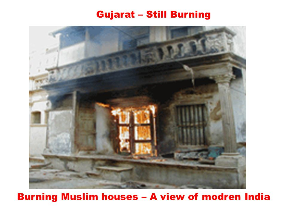 Gujarat – Still Burning It was Mosque now temple…! Replaced by Hindutva terrorist