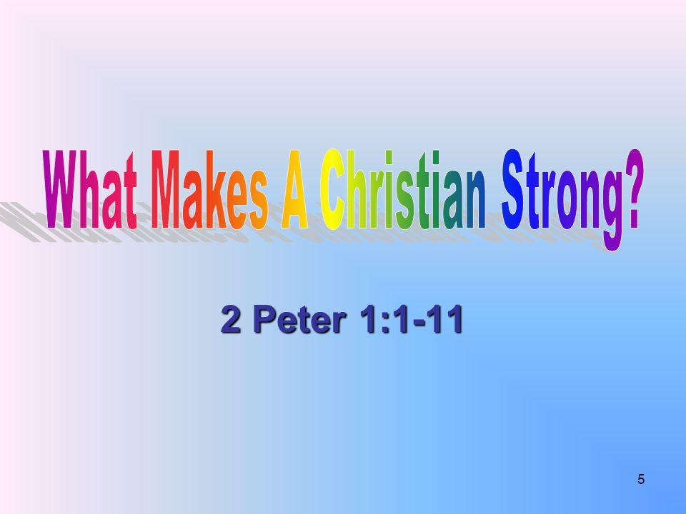 2 Peter 1:1-11 5