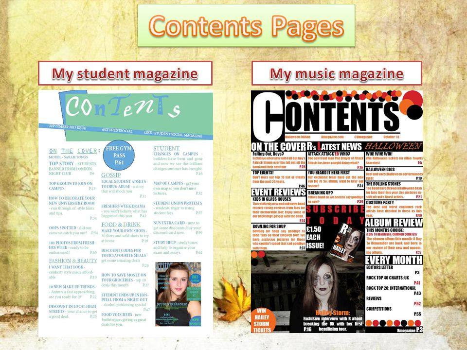Looking back to when I made my student magazine, as I was using brand new media formats to produce the piece, you can tell that it lacks that professional image that you expect from magazines.
