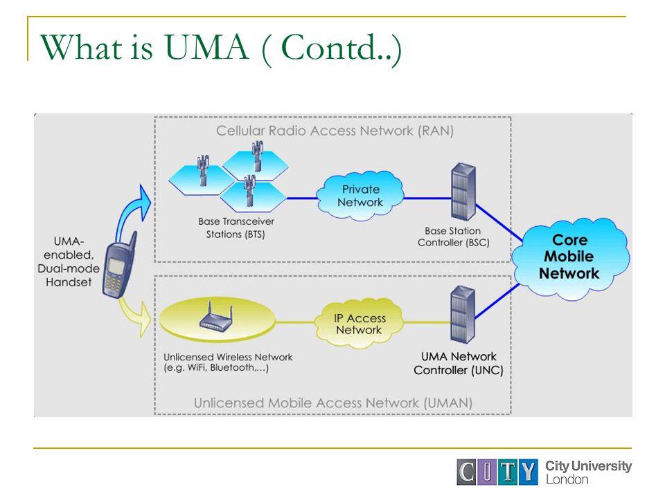 What is UMA ( Contd..)