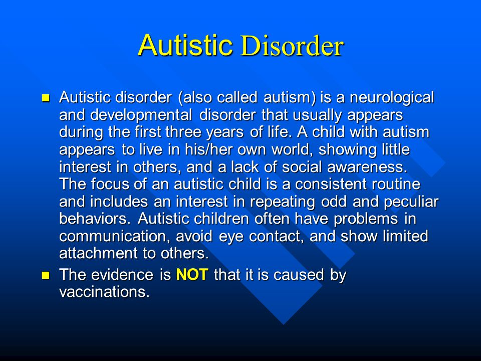 Asperger s Disorder (AD) Asperger s (or AS) is one of several autism spectrum disorders (ASD) characterized by difficulties in social interaction and by restricted, stereotyped interests and activities.