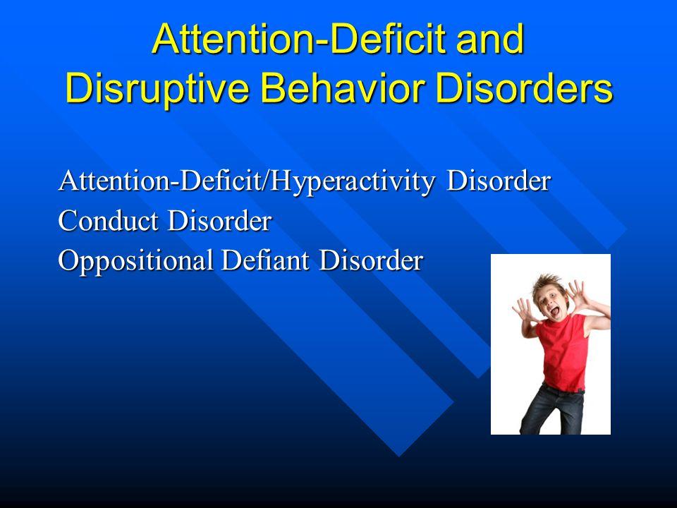 Attention- Deficit/Hyperactivity Disorder (ADHD) Inattention Inattention Hyperactivity Hyperactivity Impulsivity Impulsivity