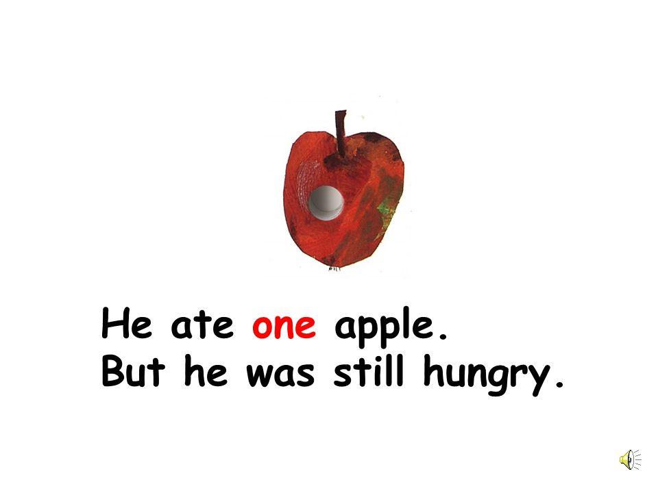 圖片來源: The Very Hungry Caterpillar by Eric Carle 聲音來源:陳玉樺 張雅雯