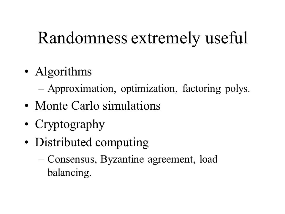 General Weakly Random Sources What if bits are correlated.
