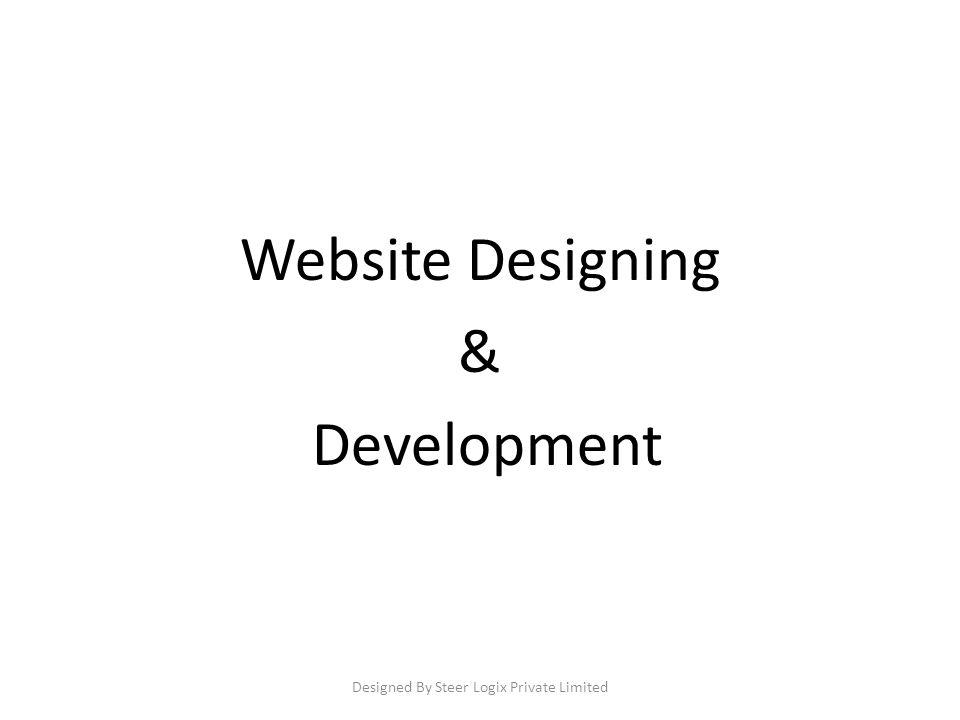 Website Designing & Development Designed By Steer Logix Private Limited