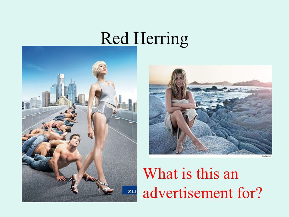 Red Herring What is this an advertisement for?