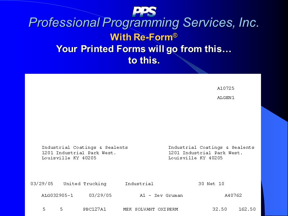 Professional Programming Services, Inc.
