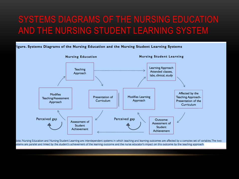 SYSTEMS DIAGRAMS OF THE NURSING EDUCATION AND THE NURSING STUDENT LEARNING SYSTEM