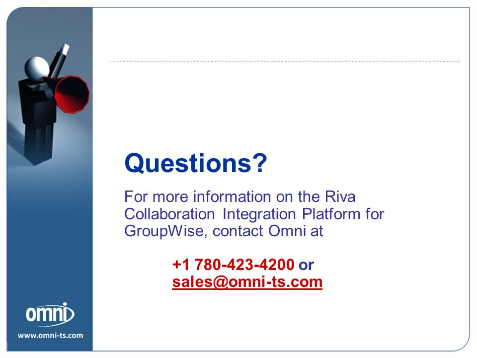 Riva Policies Questions.