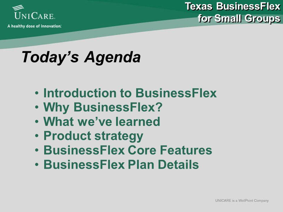 Today's Agenda Introduction to BusinessFlex Why BusinessFlex.