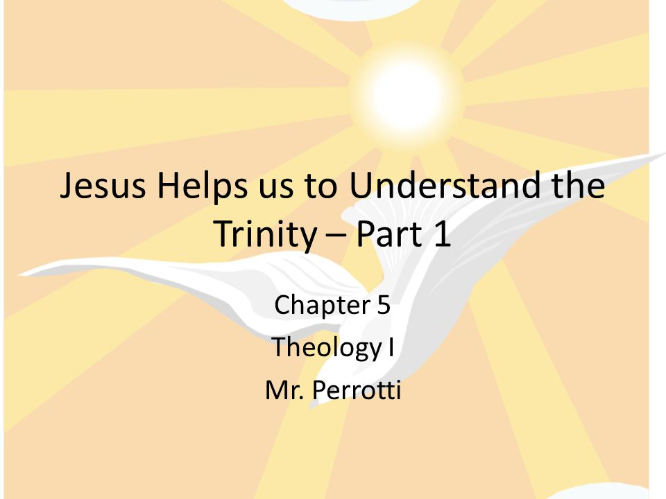 How can we do the Work of the Trinity Honor the Lord thy God and have no other God's but me and love thy neighbor as thy self.