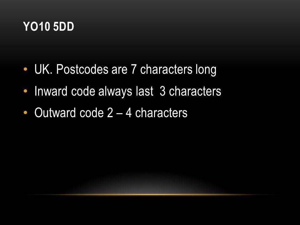 YO10 5DD UK.