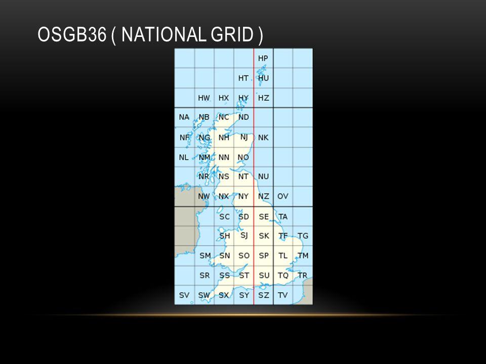 OSGB36 ( NATIONAL GRID )