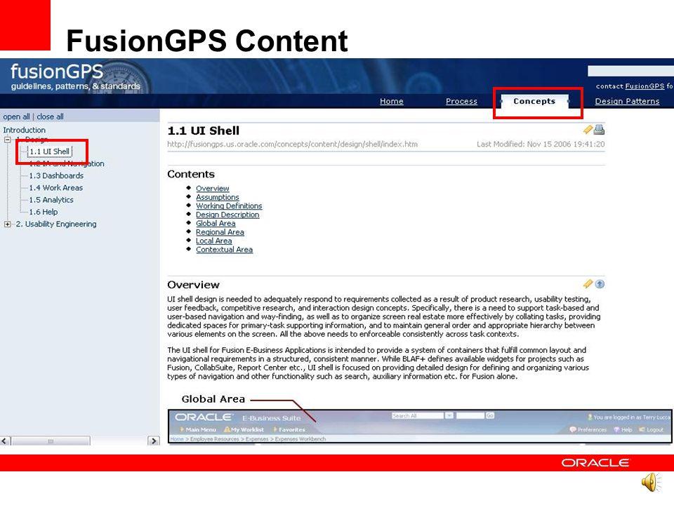 FusionGPS Content