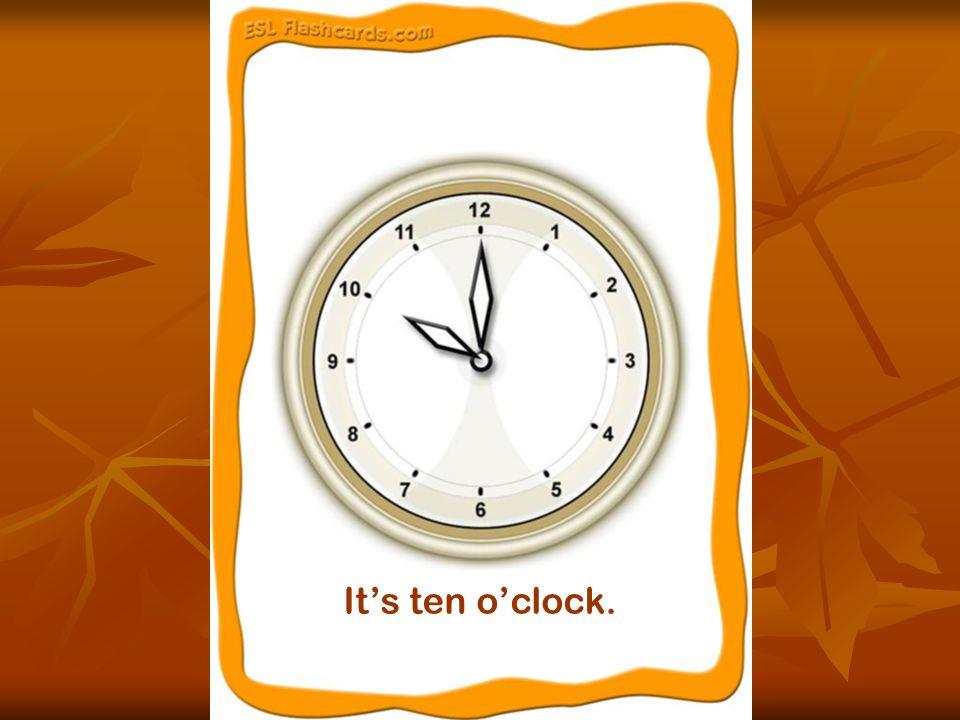 It's half past three.