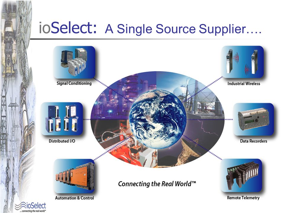 ioSelect: A Single Source Supplier….