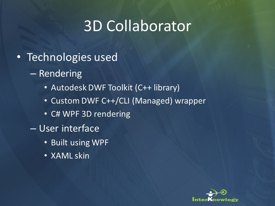 3D Collaborator Opens AutoCAD *.dwg Files Natively