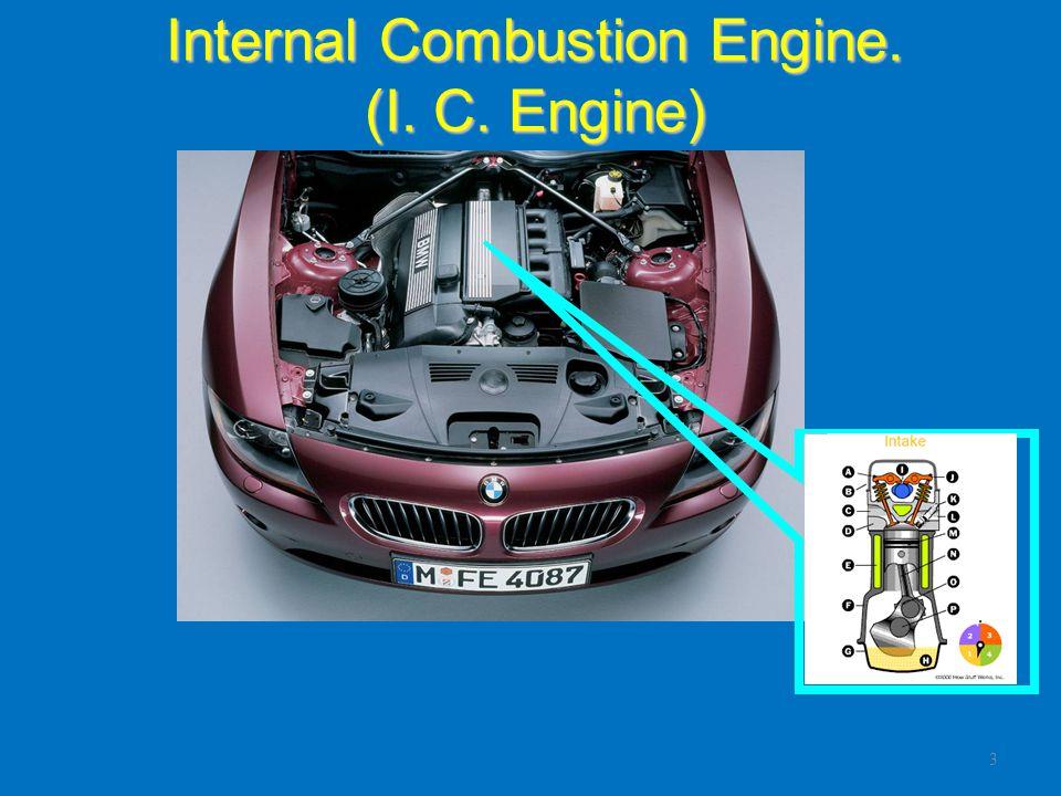 Diesel Engine Principles of Operation Intake Stroke – The intake valve opens.