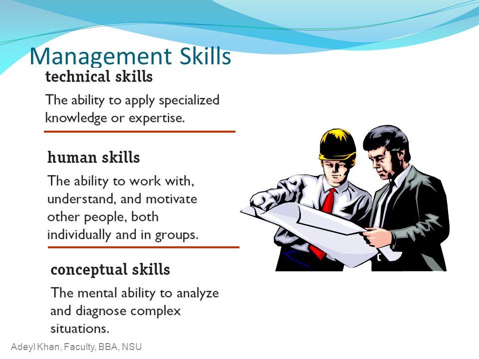 Adeyl Khan, Faculty, BBA, NSU Management Skills