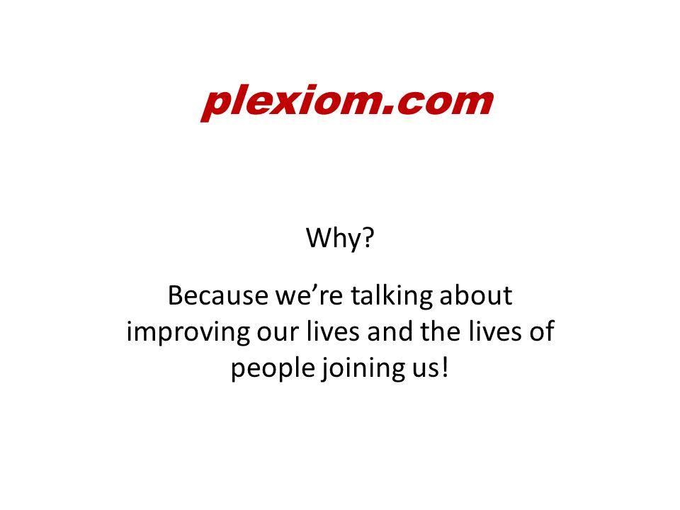 plexiom.com Why.