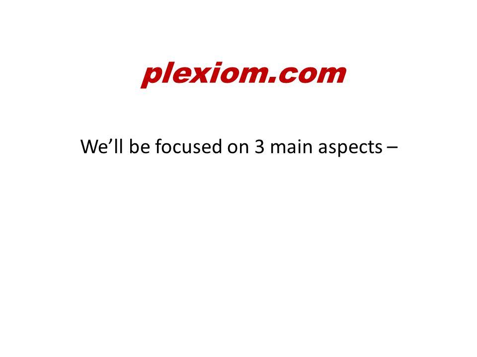 plexiom.com So what happens now…