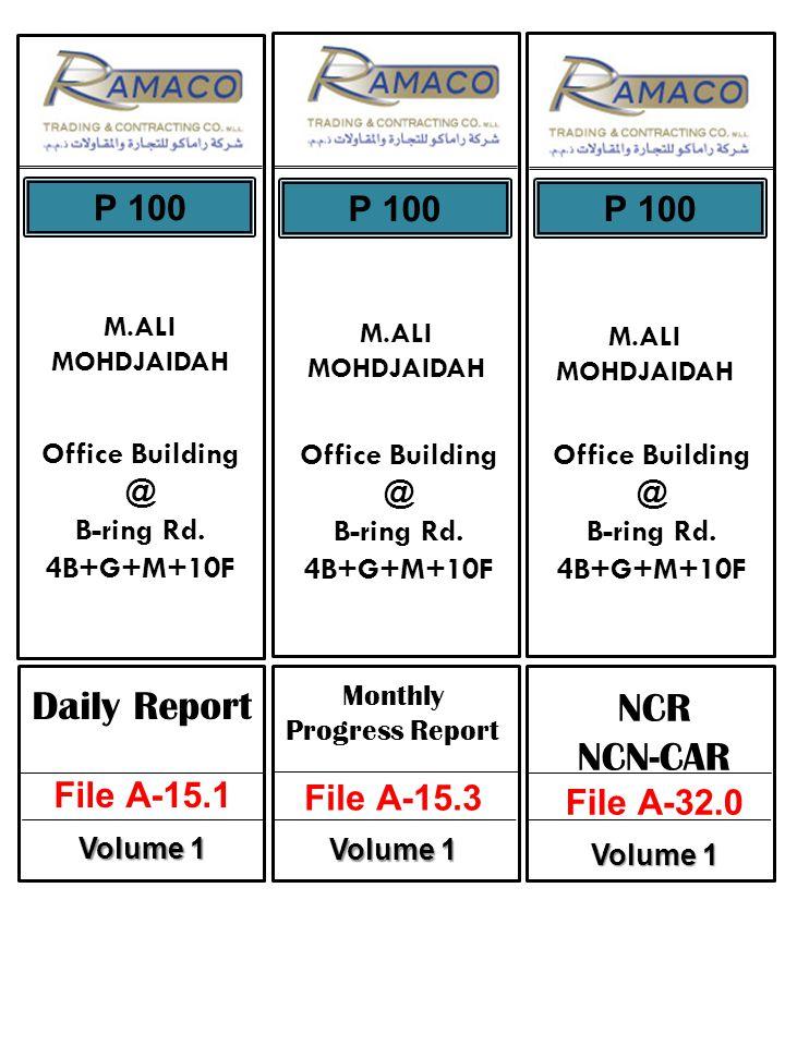 M.ALI MOHDJAIDAH P 100 Office Building @ B-ring Rd.