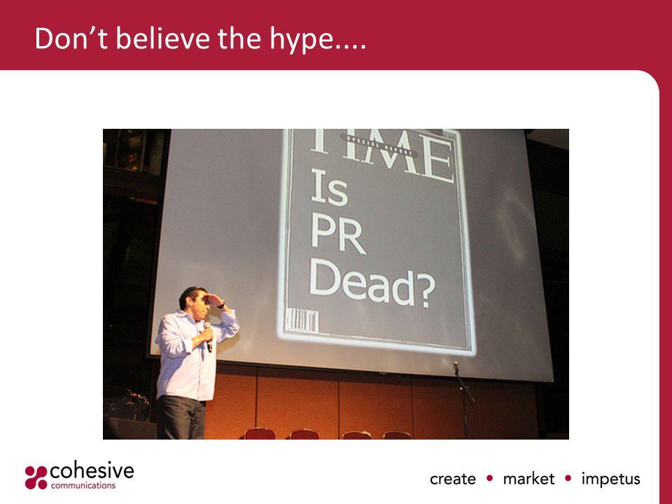 PR & the social web