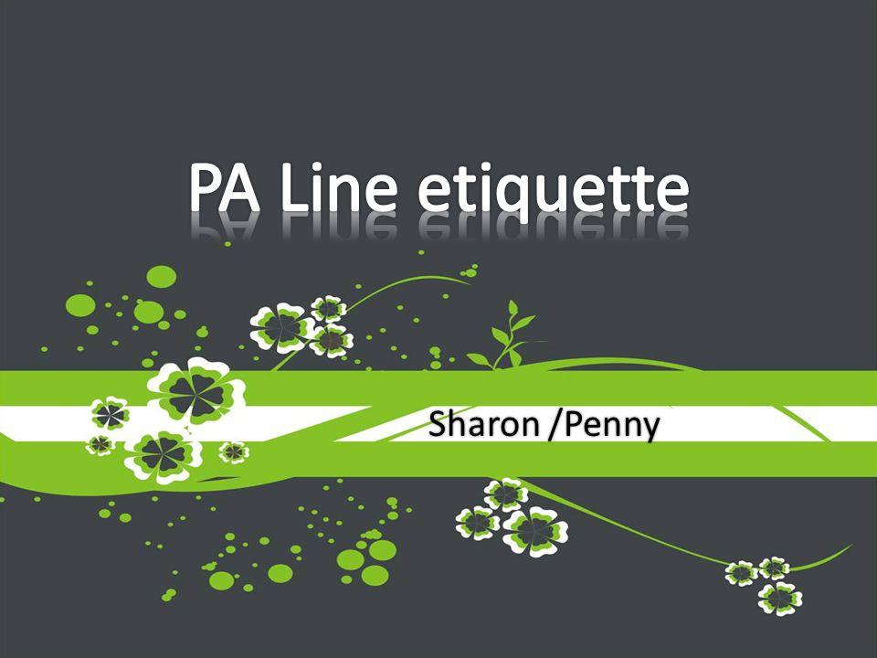 Sharon /Penny