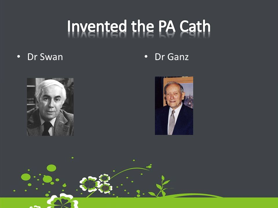 Dr Swan Dr Ganz