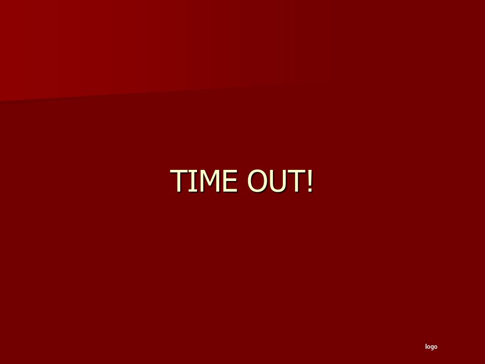 TIME OUT! logo