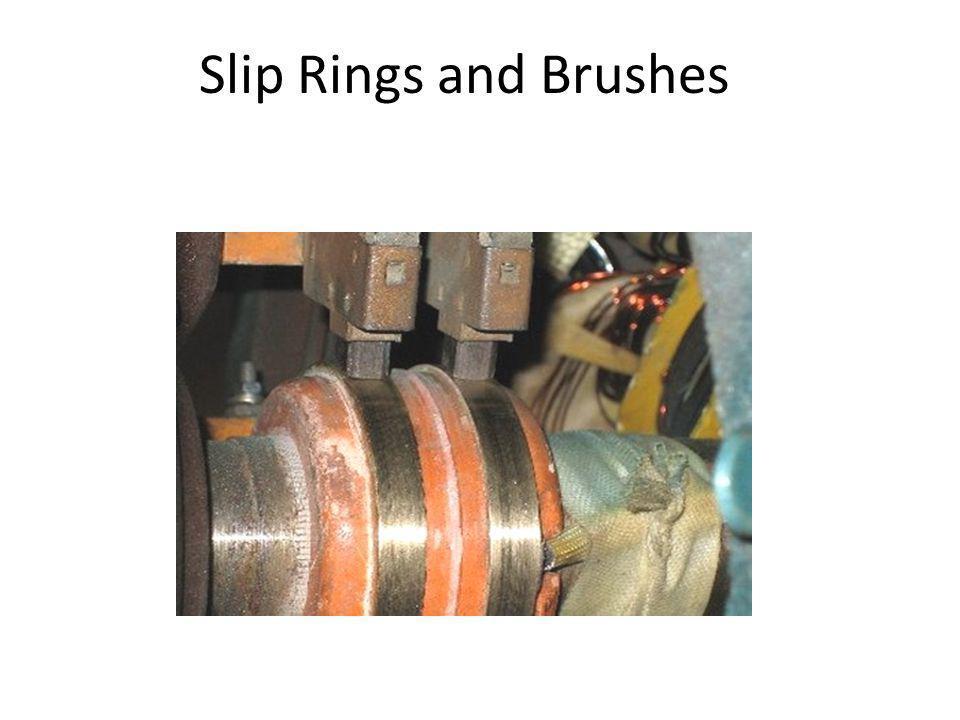 Slip Rings and Brushes