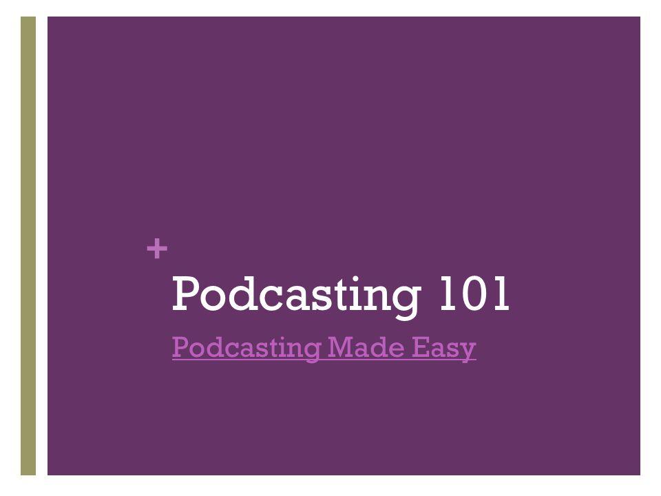 + Podcasting in the Clas sroom ALEX iTunes U