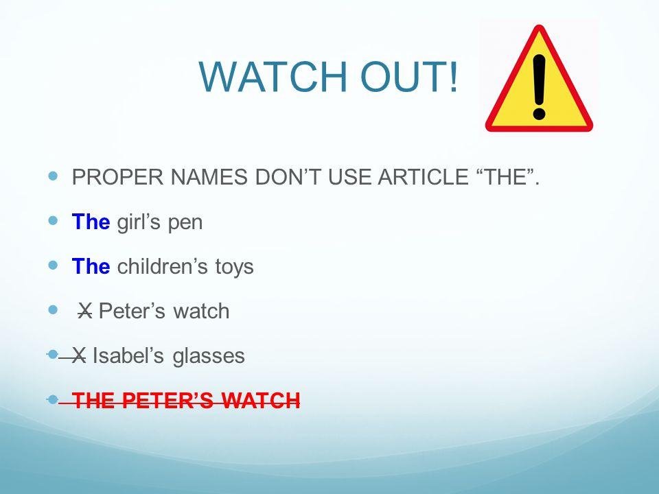 YOUTUBE PRACTICE JENNIFER ESL http://www.youtube.com/watch?v=CWOcw97CP_M