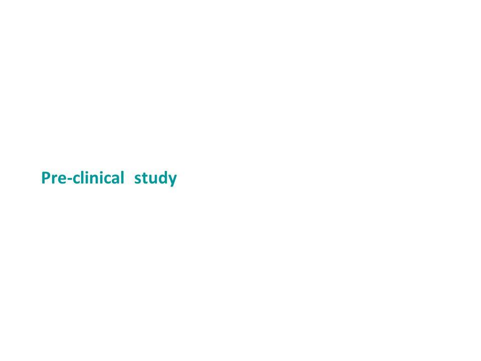 Pre-clinical study