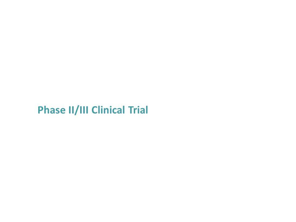 Phase II/III Clinical Trial