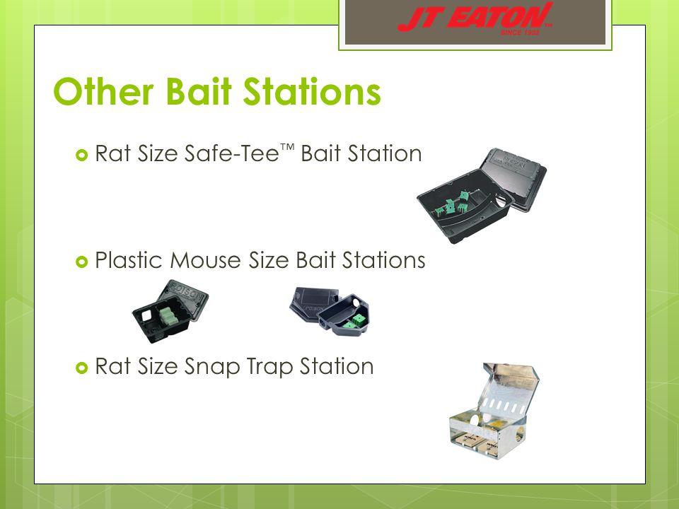  Rat Size Safe-Tee ™ Bait Station  Plastic Mouse Size Bait Stations  Rat Size Snap Trap Station Other Bait Stations