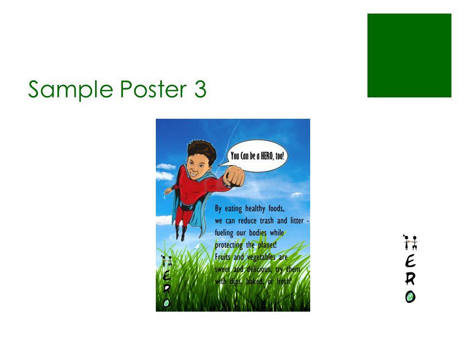 Sample Poster 3