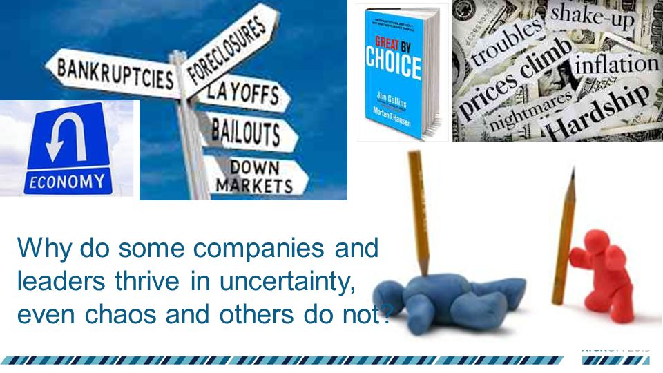 Why do some companies and leaders thrive in uncertainty, even chaos and others do not?