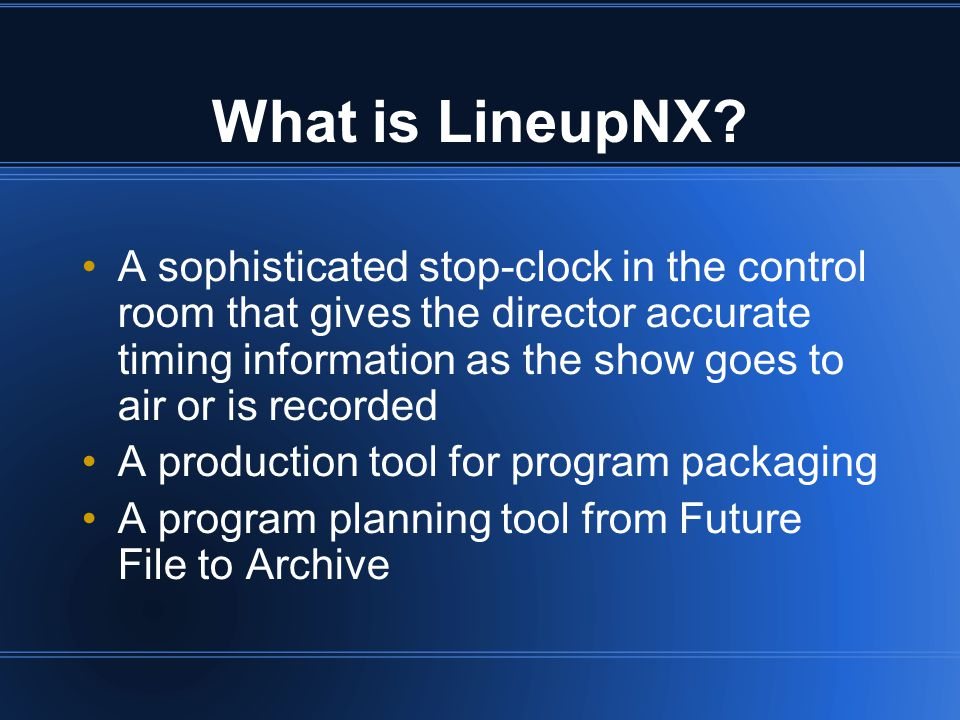 Where is LineupNX.