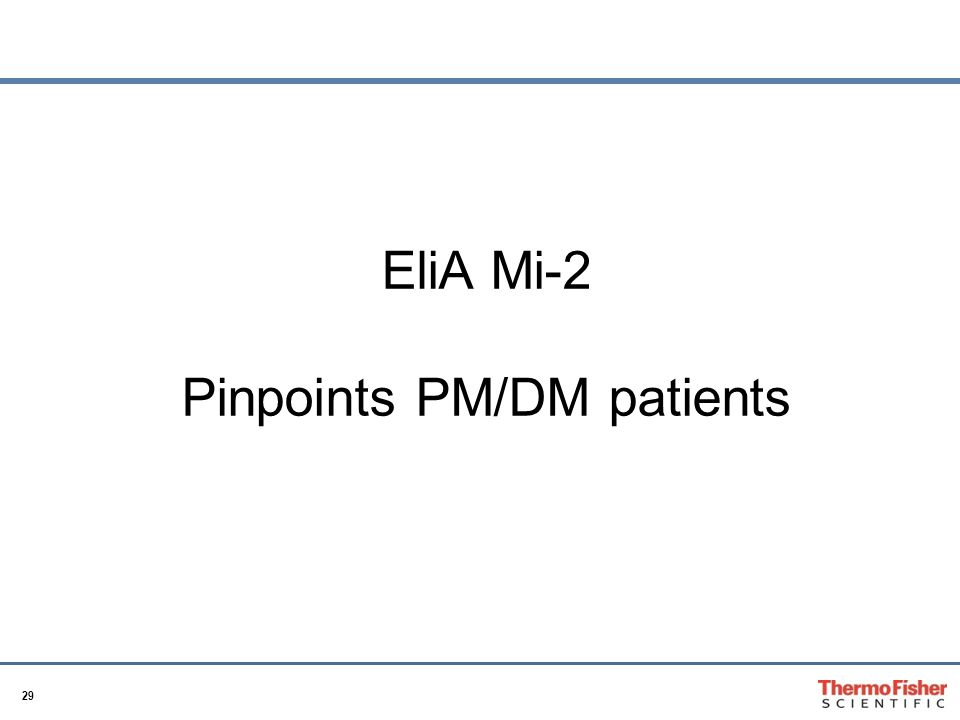 29 EliA Mi-2 Pinpoints PM/DM patients