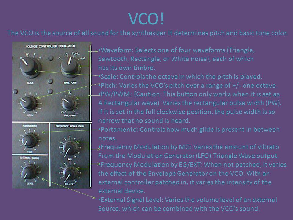 VCF (Filter)!!.