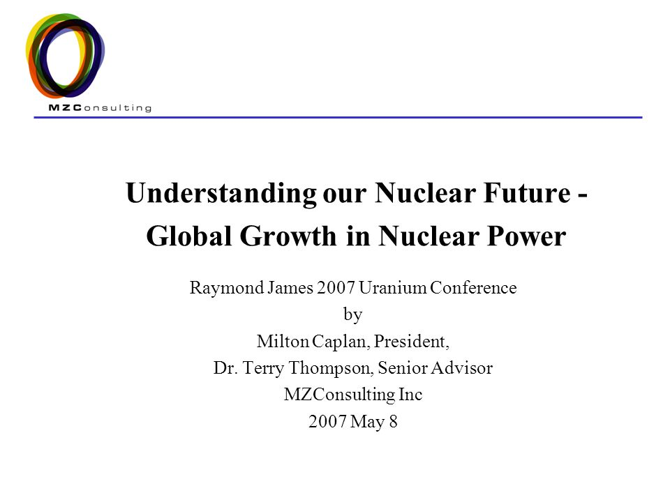 2 Outline Uranium and its use Nuclear New Build Nuclear Characteristics –Performance –Project schedules –Economics Alternative Fuel Cycles Future Projections