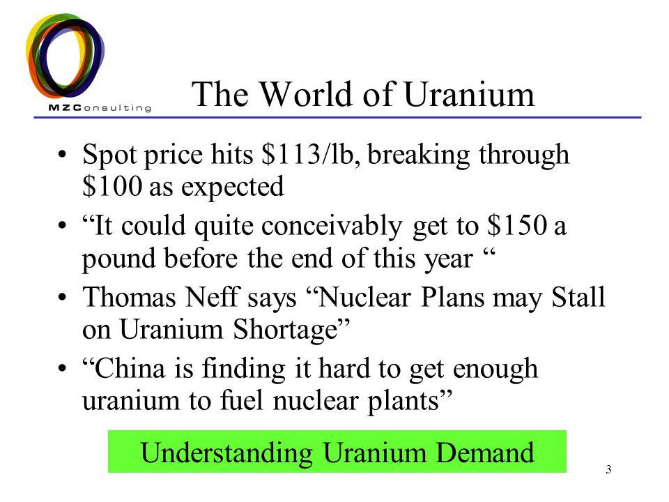 4 Uranium Energy Highly energy intensive source of energy Uranium Pellet Coal 7 grams (.24 oz) 1,780 lbs (or 17,000 cu ft of gas) =