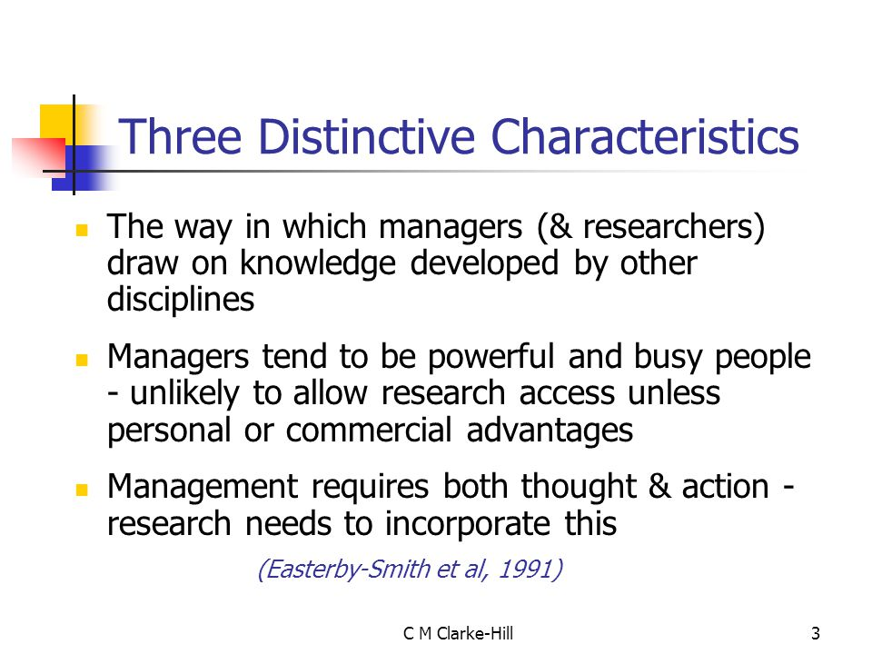 C M Clarke-Hill14 A Typical Dissertation Structure