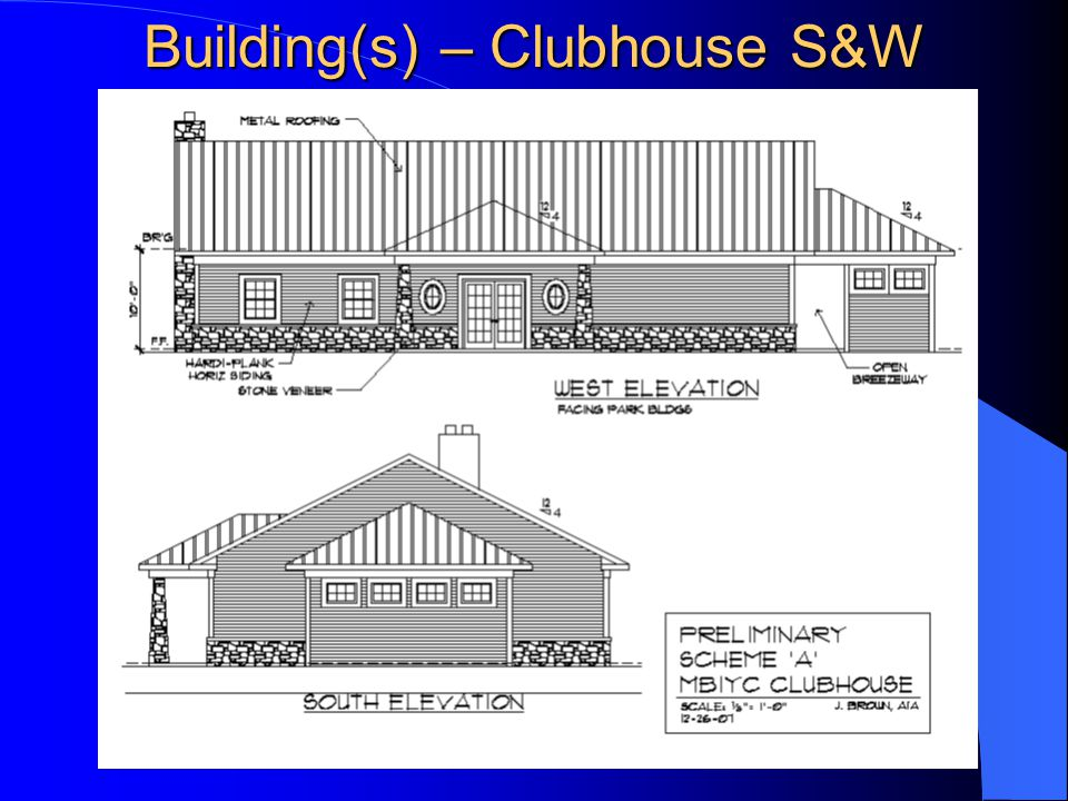 Building(s) – Clubhouse S&W