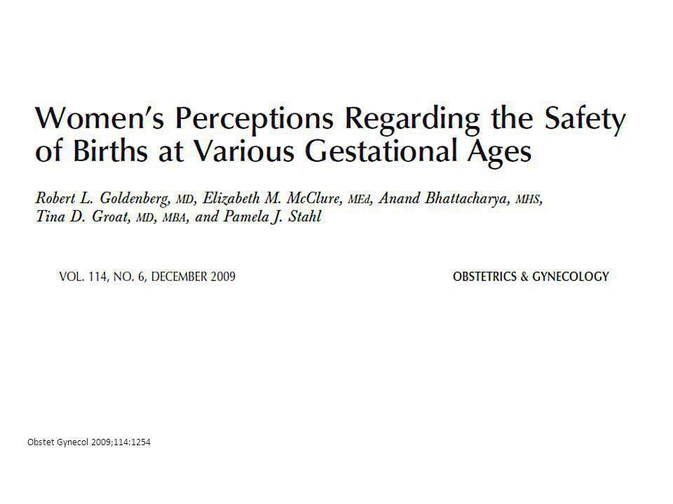 Obstet Gynecol 2009;114:1254